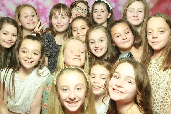 Photo Booth hire - Madeline & Leah's 11th Birthday