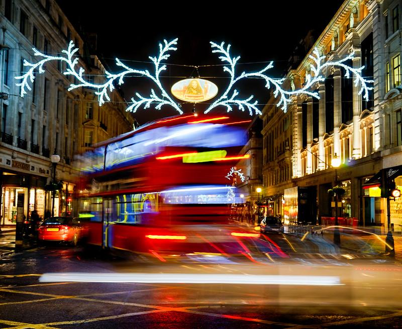 Regent Street bus