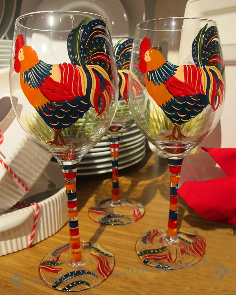 The Rooster Glasses