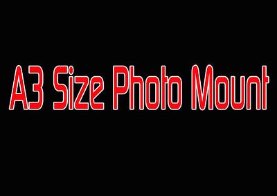 A3 PHOTO MOUNT