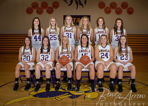Girls Basketball Team Photos