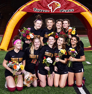 TP Girls Soccer Senior Night, 2-1-19