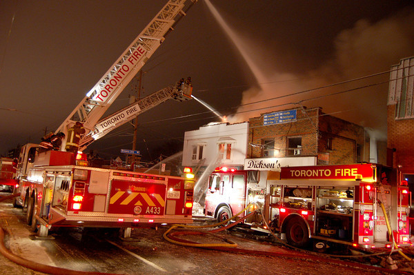 February 27, 2007 - 4th Alarm - 3737 Lakeshore Blvd W