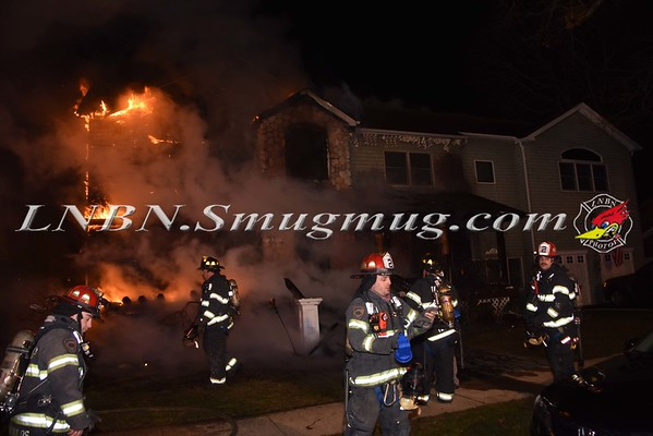 Bellmore F.D. House Fire 2316 Woodbine Avenue 12-29-16