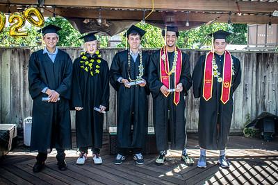 Alameda 2020 - Backyard Graduation
