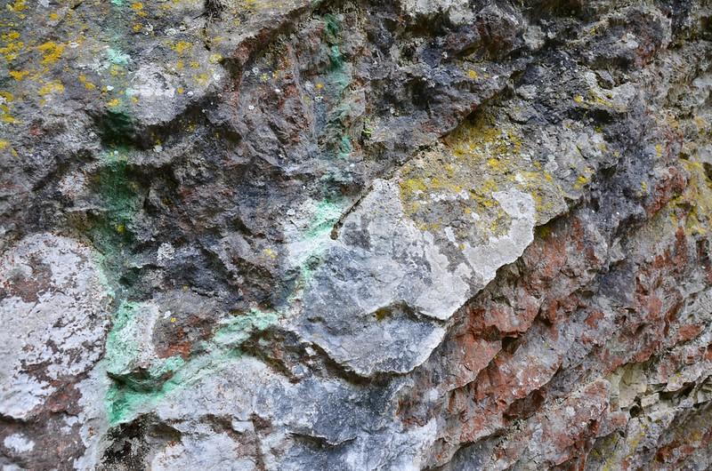 Colorful Rocks. Vintgar Gorge, Bled
