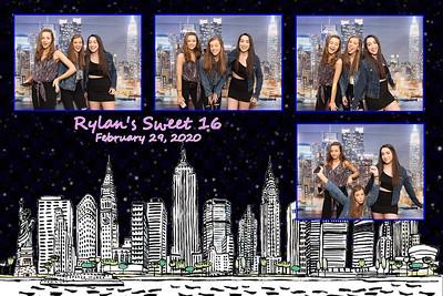 Rylan's Sweet 16  02.29.2020
