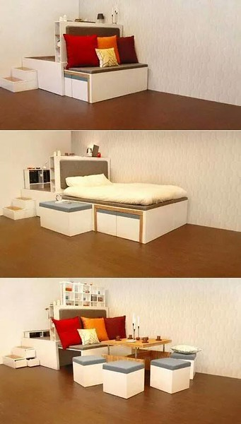 My Ideal Teeny Tiny Home Space