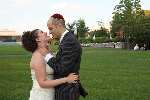 Tia and David Wedding