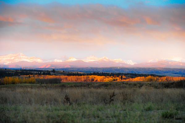 10 2012 Oct 14 Sunrise & Cattails