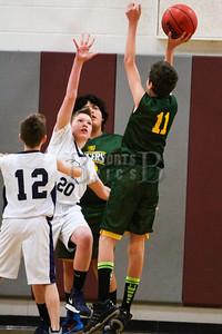 7th Grade Boys • St. Ambrose Green vs St. JOhn Baptist Blue • 12-21-2013