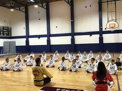 Tae kwon do-1st and 3rd grades