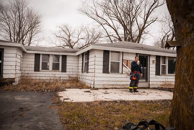 Rt. 17 Limestone  Fire Dept House Burn