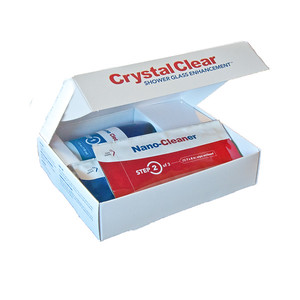 Crystal Clear Open Box White