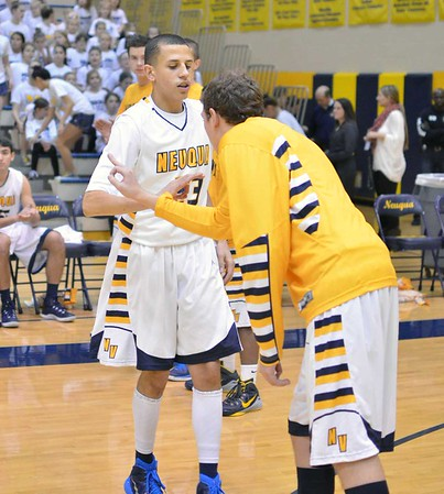 Boys Basketball: Glenbard East at Neuqua Valley Basketball 12.13.2014