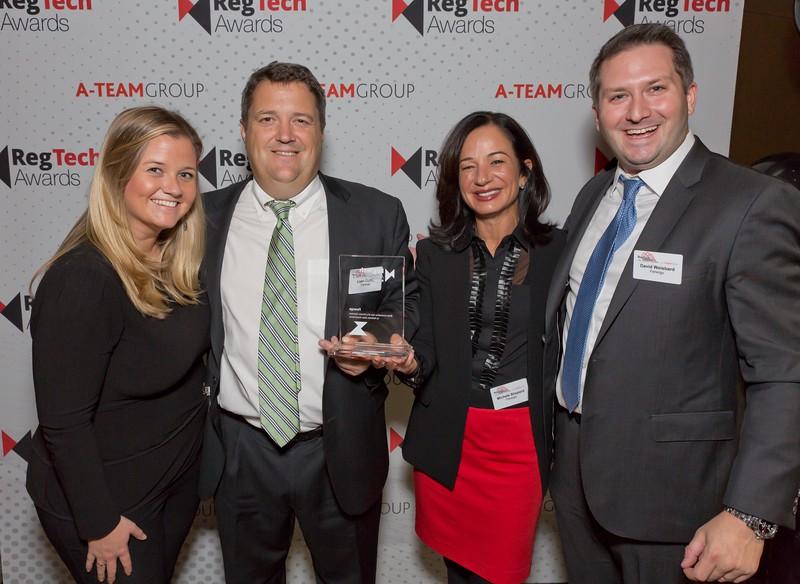 RegTech Award winners for Most Innovative Use Of A Vendor Solution To Address Data Governance, Fenergo