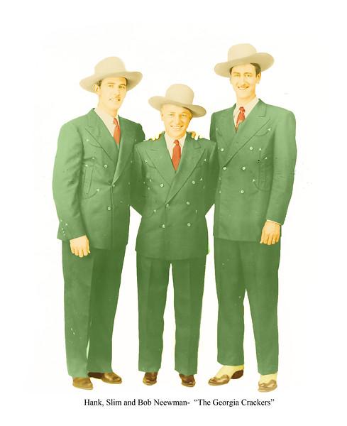 Hank, Slim and Bob Newman