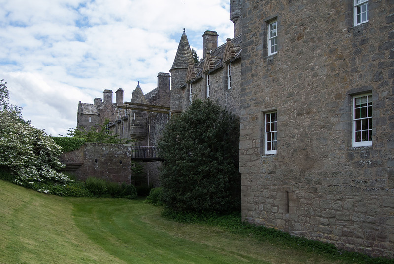 Cawdor Castle is about 10 miles from Culloden.