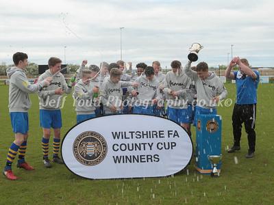 WILTSHIRE COUNTY U15 CUP FINAL.