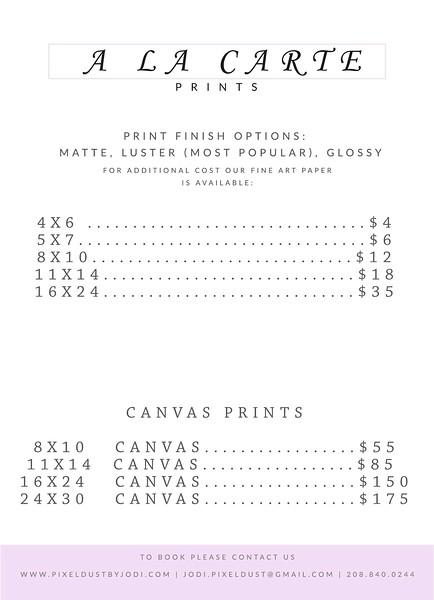 a la carte print pricing.jpg