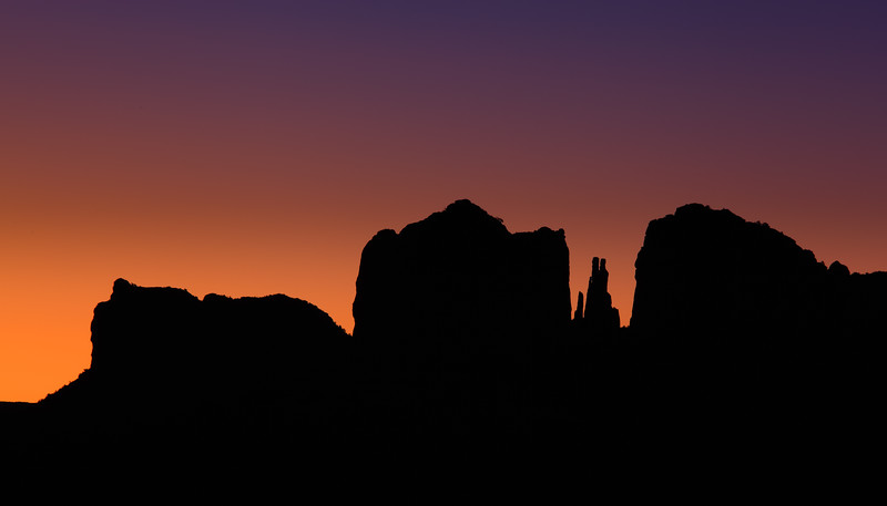 Sunrise Cathedral Rock