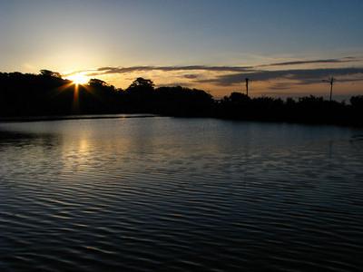 Oyster Bay Lake Sunrise April 29 2011
