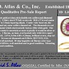 3.27ctw Burma No-heat Ruby Cluster Ring, GIA cert 3