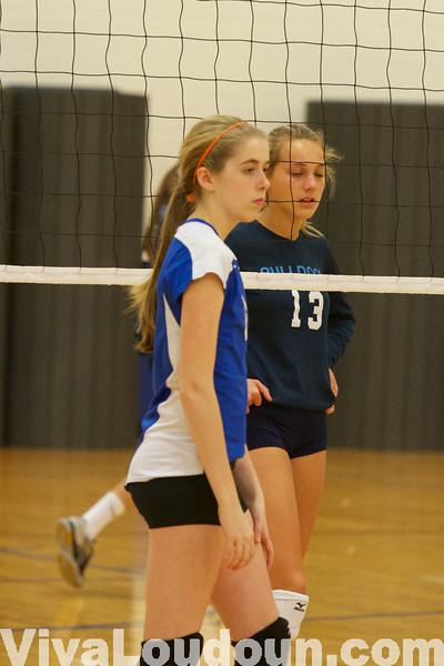 Volleyball: Freshman Stone Bridge @ Tuscarora 10.16.13 (by Jeff Scudder)