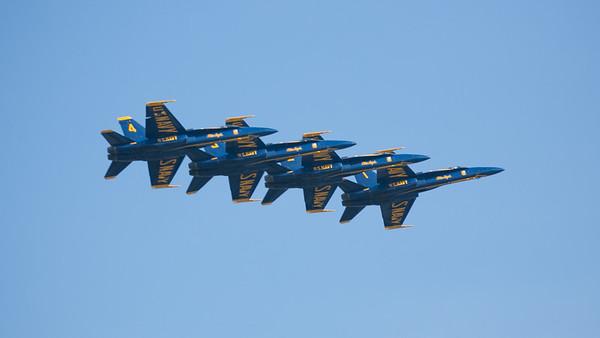 Fleet Week - Blue Angels, SF, 2019