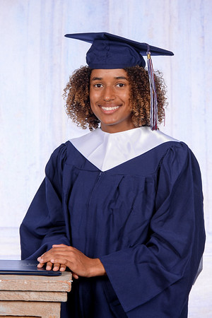 Cap and Gown - Olivia