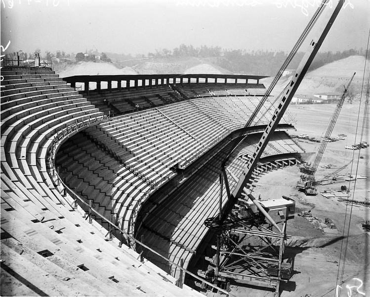 1961, Stadium Construction