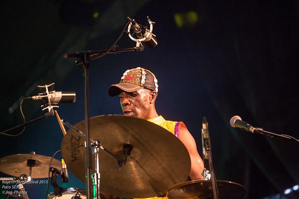 Kayenn Jazz Festival 2015 Paco SÈRY