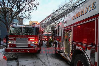 Cambridge, MA - Working Fire, 64 Putnam Ave, 1-2-18