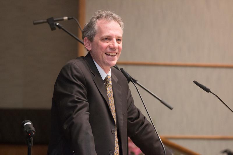 Jerry Sorkin, President -- Tour de Rudolph -- Retirement tribute for Rabbi Bill Rudolph, Congregation Beth El, Bethesda, MD, May 17, 2015