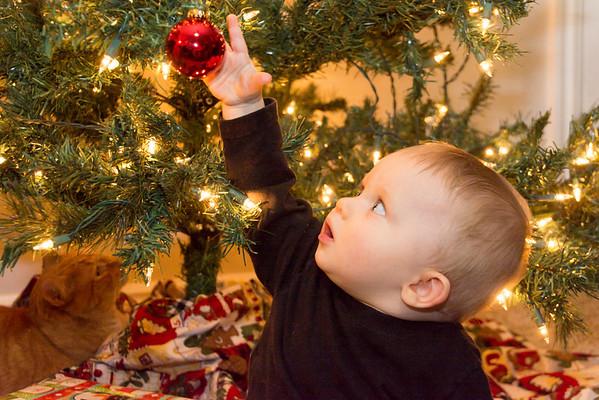 Kyson's First Christmas: 2013