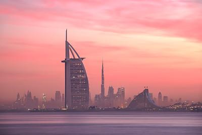 Dubai cityscapes, UAE