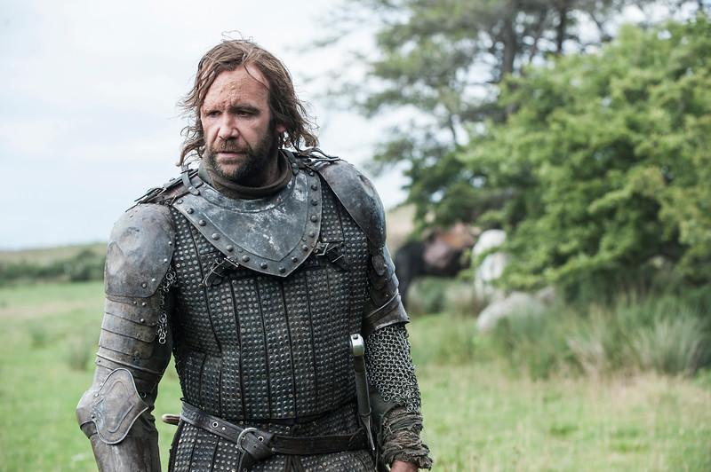 . Game of Thrones, Season 4: Rory McCann. (Photo by Helen Sloan)