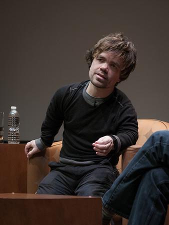 Peter Dinklage + Dan Ariely in BRAINWAVE at RMA