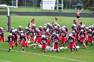 2011-09-29 BHS JV Football VS East Meck