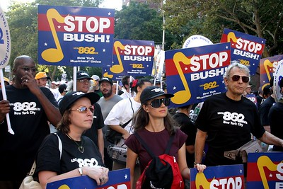 Labor says NO to 4 more years of Bush!