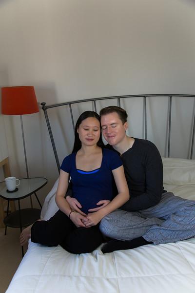 Eric & Jenny expecting Charlotte
