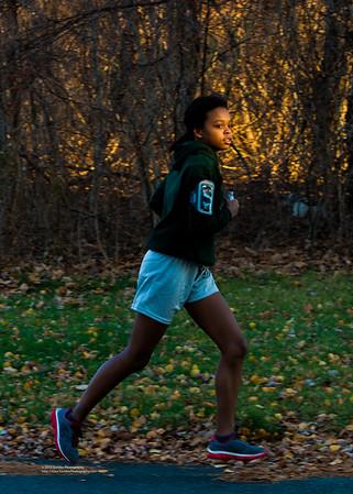 Emma Runs Around the Neighborhood