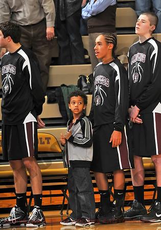 Boys Varsity Basketball - Okemos at Holt - Feb 19
