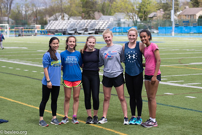 Girls Track & Field (Spring Break Practice)