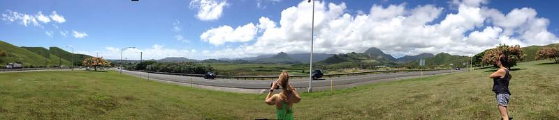 Oahu 2014 Papa Hi'ikua and Family