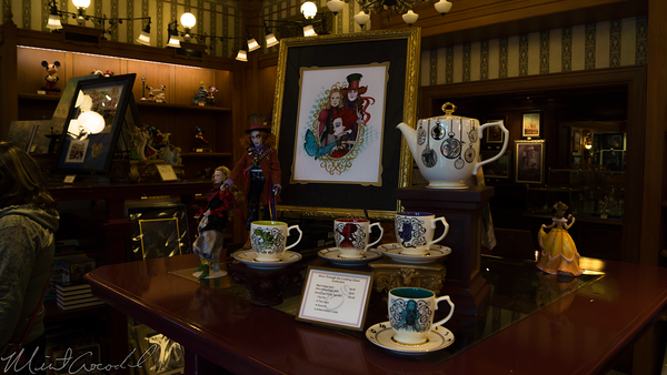 Disneyland Resort, Disneyland, Main Street USA, Disneyana, Alice, Through, Looking, Glass, Merchandise
