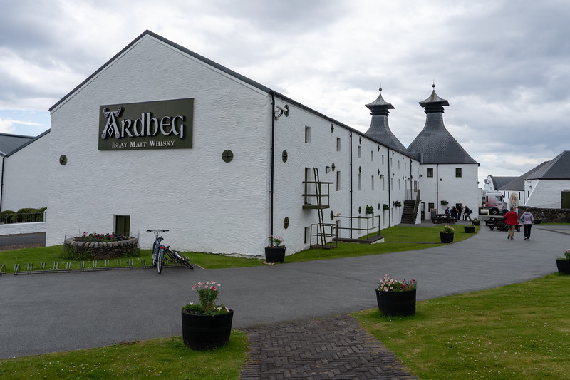 Ardbeg Distillery on Islay