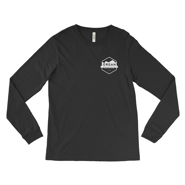 Outdoor Apparel - Organ Mountain Outfitters - Mens - Aggie OMO NMSU Long Sleeve Shirt - Black White Front.jpg