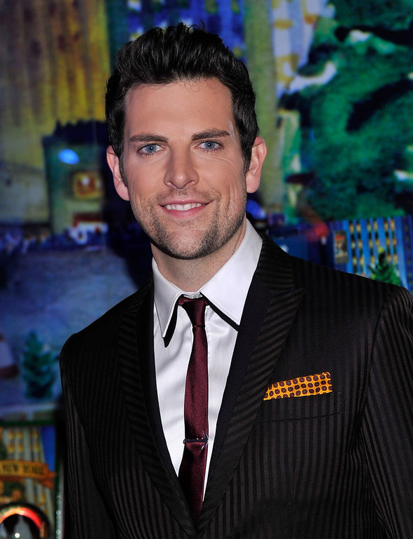 . Singer Chris Mann attends the 80th Annual Rockefeller Center Christmas Tree Lighting Ceremony on November 28, 2012 in New York City.  (Photo by Stephen Lovekin/Getty Images)