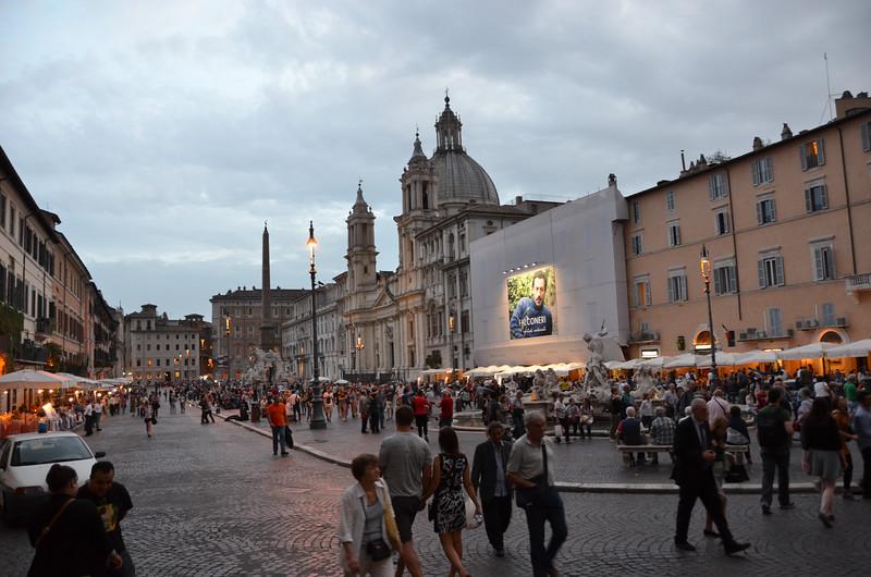 Piazza Navona in Rome.